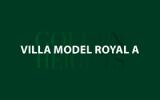 Model Royal A – Unit 101 – Stand Alone Villa