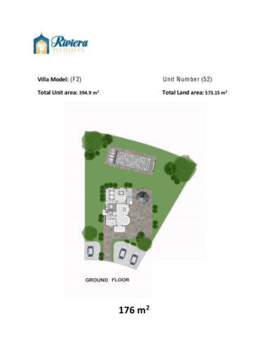 Model F2 – Unit 52 – Stand Alone Villa