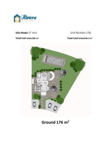 Model F – Unit 16 – Stand Alone Villa