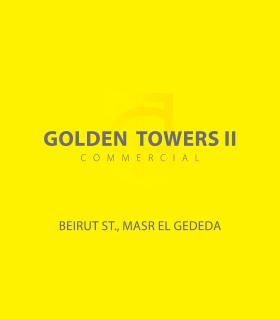Golden Towers II Commercial – Beirut St., Masr El Gededa