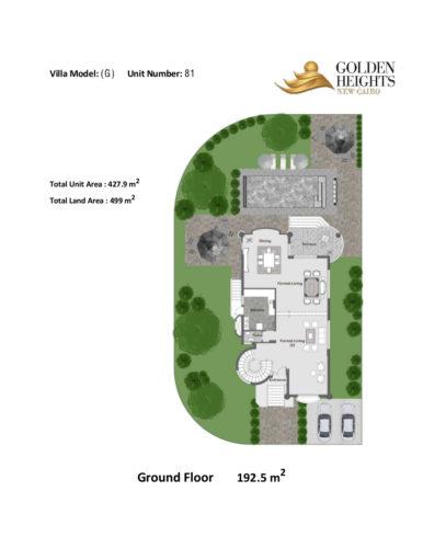 Model G – Unit 81 – Stand Alone Villa
