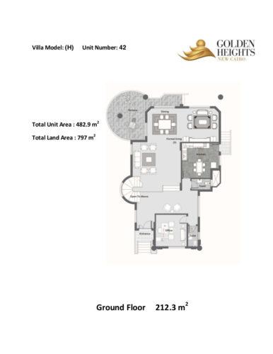 Model H – Unit 42 – Stand Alone Villa