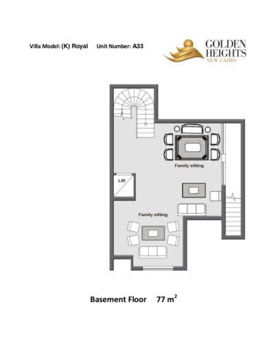 Model k – Unit A33 – Stand Alone Villa