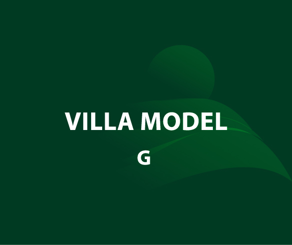 Model G – Unit 8 – Stand Alone Villa